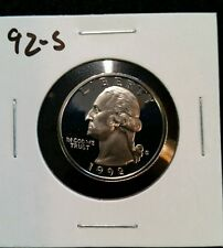 1992-S US PROOF QUARTER,,,,FROM US PROOF SET
