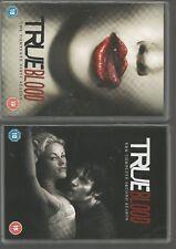 TRUE BLOOD - SEASON 1 & SEASON 2 - UK DVD SETS - COMPLETE FIRST & SECOND SERIES