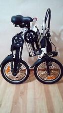 Auktion 1x16 Zoll Elektrofahrrad Klapprad Elektro E-Bike Fahrrad Pedelec 10,4 Ah