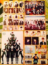 EXO All Members Baekhyun Sehun Kai Luhan Kris Chanyeol Suho 4 Sticker Sheets #M2