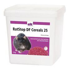 RatStop DF Cereals Difenacoum 3 kg Rattengift Weizenköder Mäusegift  < 0,0029%