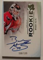 09-10 UD Upper Deck The Cup  Braden Holtby  /199  Auto  Rookie  CANUCKS