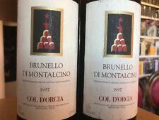 Brunello di Montalcino - 1997 - Tenuta Col D'Orcia - 2 bottiglie Vino Rosso