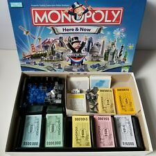 Monopoly Here And Now Edition 2006 Parker Brothers 100% Complete Mint/Excellent
