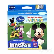 New VTech InnoTab Mickey Mouse Clubhouse Game Minnie Donald Duck Disney Official