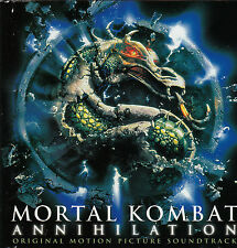 Mortal Kombat Annihilation-1997- Original Movie Soundtrack-19 Track-CD