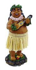 """New Hawaiian Hawaii Mini Dashboard Hula Doll Car Decor  Braddah Ed 4"""" #40780"""