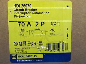 Square D Circuit Breaker HDL26070