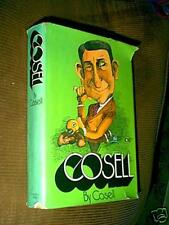 Cosell by Howard Cosell Signed Autograph 1st  Ed. 1973 HC/DJ
