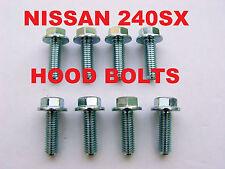 JC08   1989-1998 240sx S13 S14 HOOD HINGES BOLTS NEW hood hinge Latch bolt