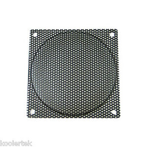 120mm Black Steel Computer PC Case Fan Filter / Grill / Guard, 2.2mm Holes