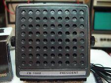 "PYRAMID CB-1000 PRESIDENT EXTERNAL SPEAKER,""LOUD & CLEAR VOICE TONES"" **NICE**"