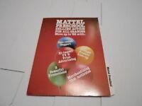 1982 VINTAGE CATALOG #1388 - MATTEL PRE SCHOOL TOYS