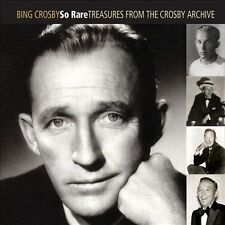So Rare: Treasures from the Crosby Archive [Digipak] by Bing Crosby (CD, Mar-2013, 2 Discs, Universal)