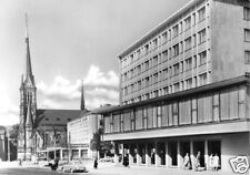 AK, Karl-Marx-Stadt, Bl. v.d. Bahnhofstr. z. Theaterpl.