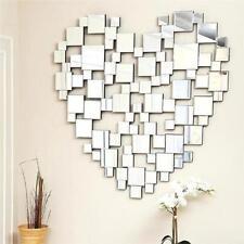 Glass Heart Decorative Mirrors