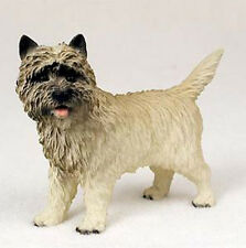 Cairn Terrier (Red) Dog Figurine Statue Hand Painted Resin Gift Pet Lovers