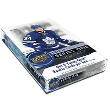 2017-18 Upper Deck Hockey Series 1 хобби коробка + 1 НХЛ плеер подписанное фото/коробка