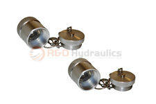 2 Pk 10000 Psi Coupler Dust Caps Amp Plugs For Enerpac
