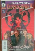 Star Wars Crimson Empire II: Council of Blood, full set, 6 Dark Horse comics lot