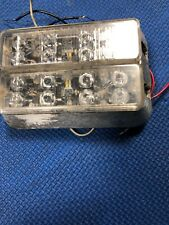 Code 3 Police Fire Exterior Warning Led Light T05715 Double Stack Blue Works