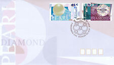 AUSTRALIA 5 SEPTEMBER 1996 DIAMONDS & PEARLS OFFICIAL FIRST DAY COVER SHS
