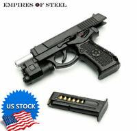 US 1/6 QSZ92 Semi-automatic Pistol Rifle Model Plastic Gun Weapon Figure Toys