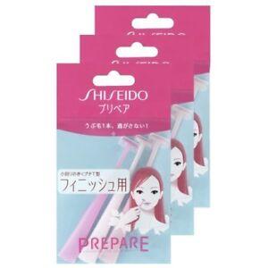 Shiseido Japan PREPARE Face Facial Safety Razor Hair Shaving Finish Small T 9pcs