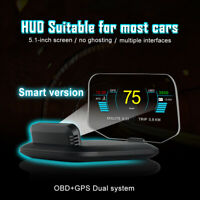 Head Up Display Projector Car Speedometer Auto HUD GPS Projector OBD2 MA2101