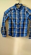 HOLLISTER BY ABERCROMBIE & FITCH PLAID SHIRT【 MEDIUM】325-259-0137-029 NEW