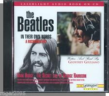 The Beatles - Dark Horse: Secret Life of George Harrison - New 1995 Spoken CD!