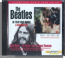 The Beatles - Dark Horse: Secret Life of George Harrison - New 1995 Spoken CD!