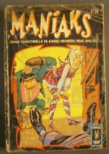 """MANIAKS N°3 - BON ÉTAT - Édition ARTIMA """"Comics Pocket"""" - Décembre 1970"""