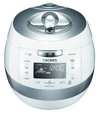 Cuckoo CRP-AHSS1009FN 10 Cups IH Pressure Rice Cooker 110V, White, Made in Korea