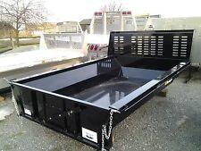 New Steel EZ Dump Bed Insert, Hoist Tailgate 8ft Long Bed Dodge, Ford, Chevy, GM