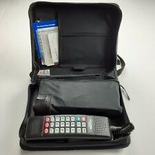MOTOROLA Vintage US West MegaPhone Mobile SCN2500A Case Antenna Manual Battery
