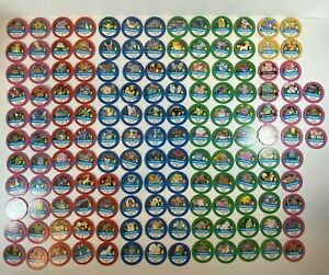 Pokemon Master Trainer Board Game 1999 Circle Chips pogs 146 only