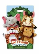 Zoo Friends Hand Puppets by Melissa & Doug.