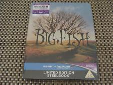 Blu Steel 4 U: Big Fish : Limited Edition Steelbook & UV : Sealed Region Free