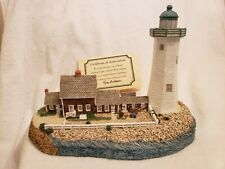 Harbour Lights 166 Scituate, Ma Lighthouse, Coa, Box #2932 c.1996