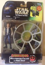 STAR WARS TPOTF GUNNER  STATION with HAN SOLO