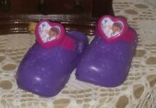 Disney DOC Mcstuffins Dress~Up Doctor Clogs Play Shoes Purple Pink One Size