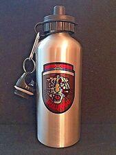ARKAN'S TIGERS - SERBIAN -Water Bottle-Aluminum-Silver Finish-20 oz/600 ml- SERB