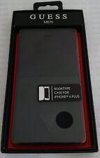 Guess Men Book Case Schutzhülle Handytasche iphone 6 plus 6S plus black