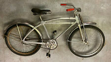 "Monark Silver King 'Hex Tube' all aluminum bicycle from 1948 26"" wheel size!"