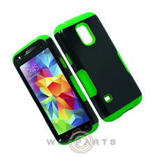 Samsung Galaxy S5 Mini Infuse Prime Case Green Shell Protector Guard