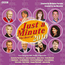 JUST A MINUTE-THE BEST OF 2010--2 CD AUDIO BOOK  BRAND  NEW SEALED