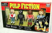 NECA 4 Mini Figure Set Pulp Fiction The Gimp New NOS Box 2004 Butch Zed Marsllus