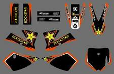 New Graphics Decal Kits For KTM SX50 SX 50CC 50 KTM50 2002 03 04 05 06 07 08 R