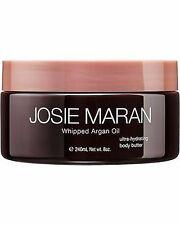 Josie Maran Whipped Argan Oil Body Butter PURE VANILLA BEAN 8oz New FREE SHIP